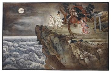 O Tokoyo and Sacrifice. Date: 1908