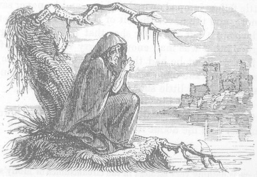 Folklore - Banshees. Date: 1862