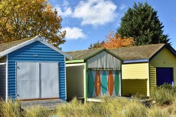 Australian beach cabins