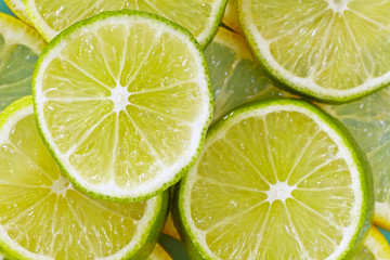 Lemon lime background