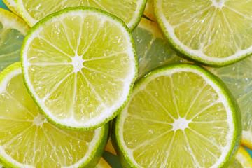 Lemon lime background