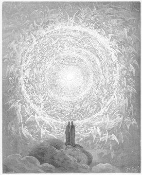Vision of Angels - Dante. Date: 1307-21