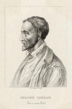 Girolamo Cardano. Date: 1501-1576