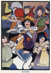 Crackers by Charles Robinson. Date: 1906