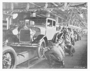 Ford Assembly Line 1930. Date: 10295