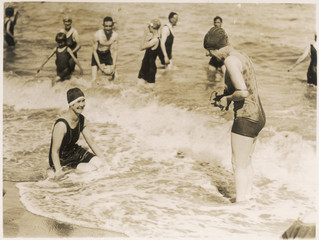 In the Surf Broadstairs. Date: 1927