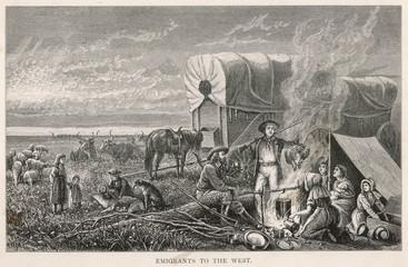 Emigrants Halt. Date: circa 1870