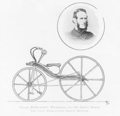 Macmillan's Dandy Horse. Date: 1830s
