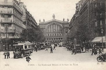 Gare Du Nord  Paris. Date: circa 1920