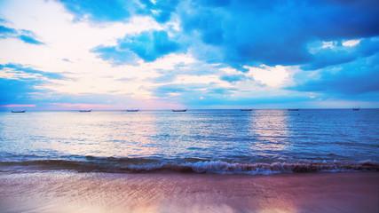 Sea sunset at Thailand, Phuket