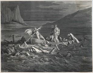 Dante - Virgil Cross Styx. Date: 1307-21