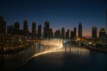 musical fountain in Dubai