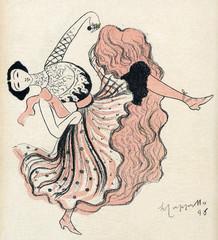 Carolina Otero - Rire 1898. Date: 1898