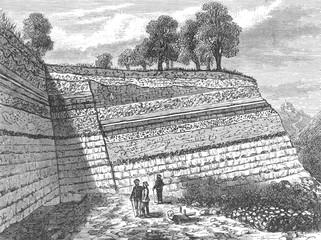 Quarry Strata Exposed. Date: circa 1860