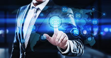 E-mail marketing Communication Business Technology Internet Network Concept.