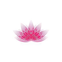 Lotus flower vector illustration