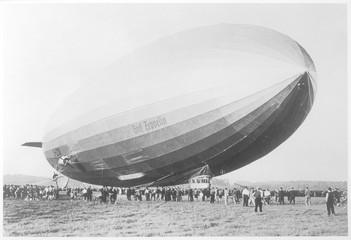 Graf Zeppelin Takeoff. Date: 1938
