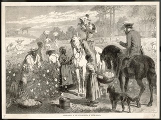 Slavery - North America. Date: 1864