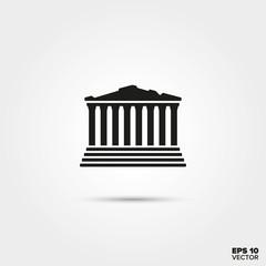 Acropolis temple Icon