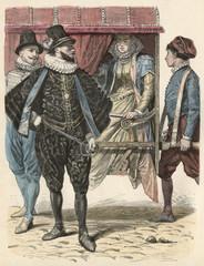 Sedan Chair - Naples 1583. Date: 1583