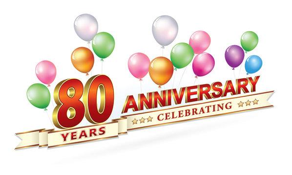 80 years anniversary