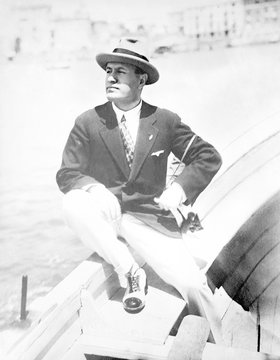 Mussolini Yachting. Date: 1883 - 1945