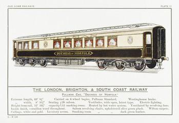 Brighton Pullman Car. Date: circa 1910