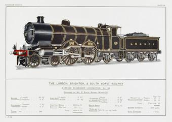 Brighton Loco 38. Date: circa 1910