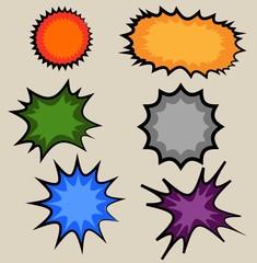 Sticker explosive