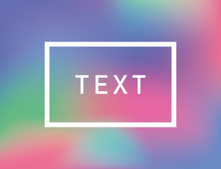 Abstract Color Gardient Background with Field for your Text