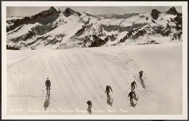 SkIIng - Tatoosh - Photo. Date: circa 1930