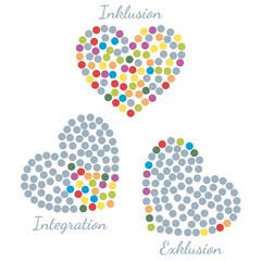 Inklusion - Integration - Exklusion