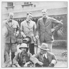 Brit Expedition Group. Date: 1924