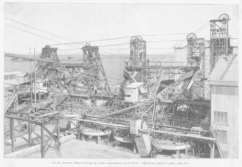 De Beers Diamond Mine. Date: 1897