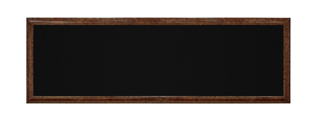 Framework in antique style. Vintage picture frame isolated on white background