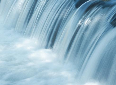 water waterfall drops foam current