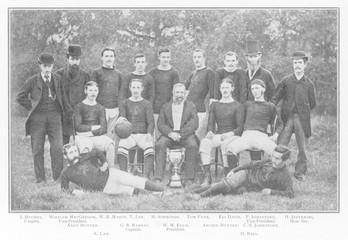 Aston Villa Fc. Date: 1879
