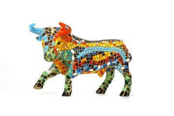 Souvenir figure of a bull in Spain