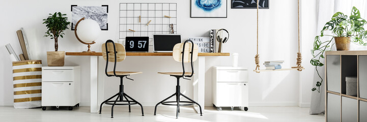 Stylish office at home