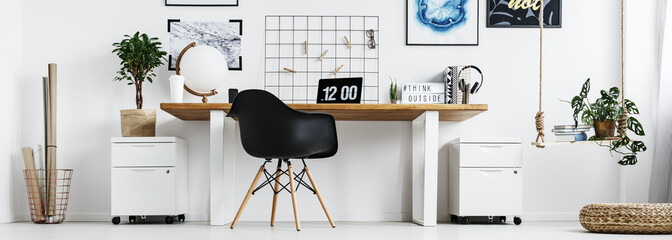 Modern office at home