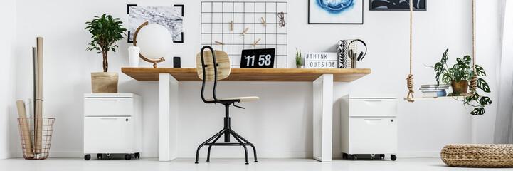 Large double desk