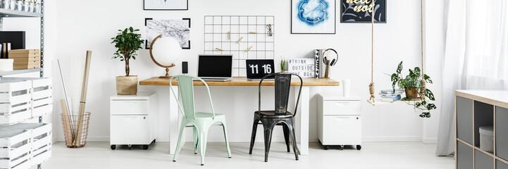 Roomy home office