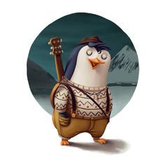 Musician Penguin