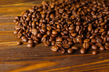 Coffee theme, coffee beans