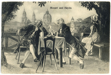Joseph Haydn - Mozart. Date: 1732 - 1809