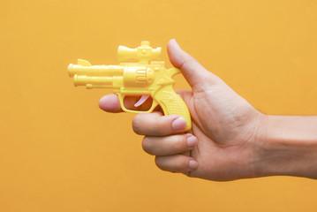 Yellow Gun toy