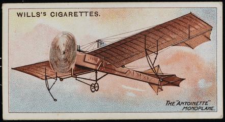 Latham's 'Antoinette'. Date: 1909