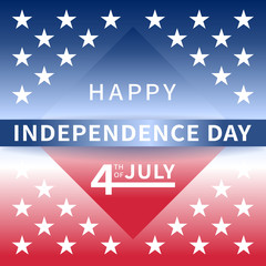 Happy Independence Day USA July 4th background