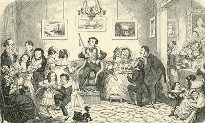 Twelfth Night 1845. Date: 1845