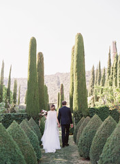 Italian Villa Wedding Decor